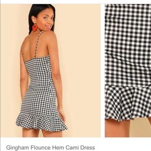 Dresses - Gingham dress brand new